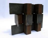 LIMITE II, ferro, cm 30x50x20, 2007