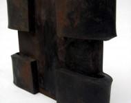 LIMITE E FORZA, ferro, cm 15x20x3, 2003