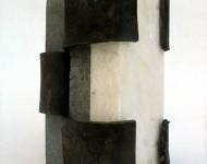 LIMINE, pietra e ferro, cm 15x10x8, 2003