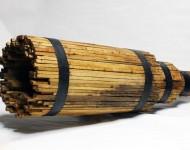 NERO PROFONDO, legno e ferro, cm 60x180x60, 2006