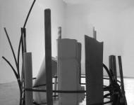 LIMITE, materiali vari e ferro, cm 300x200x200, 2006