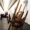 VARIABILE OBLIQUA, legno e ferro, cm 300x250x250, 2008