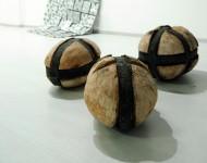 TERRE, terracotta e ferro, cm 60x45x45 ciascuno, 2011