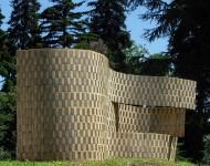 VARIABILI, legno e ferro, cm 200x500x2 (misure variabili), 2007