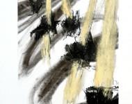 STUDIO PER SCULTURA, materiali vari, cm 70×50, 2012