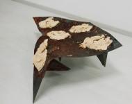 CEPHEUS, terracotta e ferro, cm 70x65x35, 2011