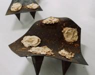 CASSIOPEIA, ANDROMEDA, terracotte e ferro, gruppo sculture con misure variabili, 2011DSC_3877 pr