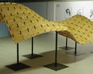 PAESAGGIO VARIABILE, OSB e ferro, cm 160x450x250, 2012